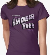 Greetings from Lavender Town Women's Fitted T-Shirt