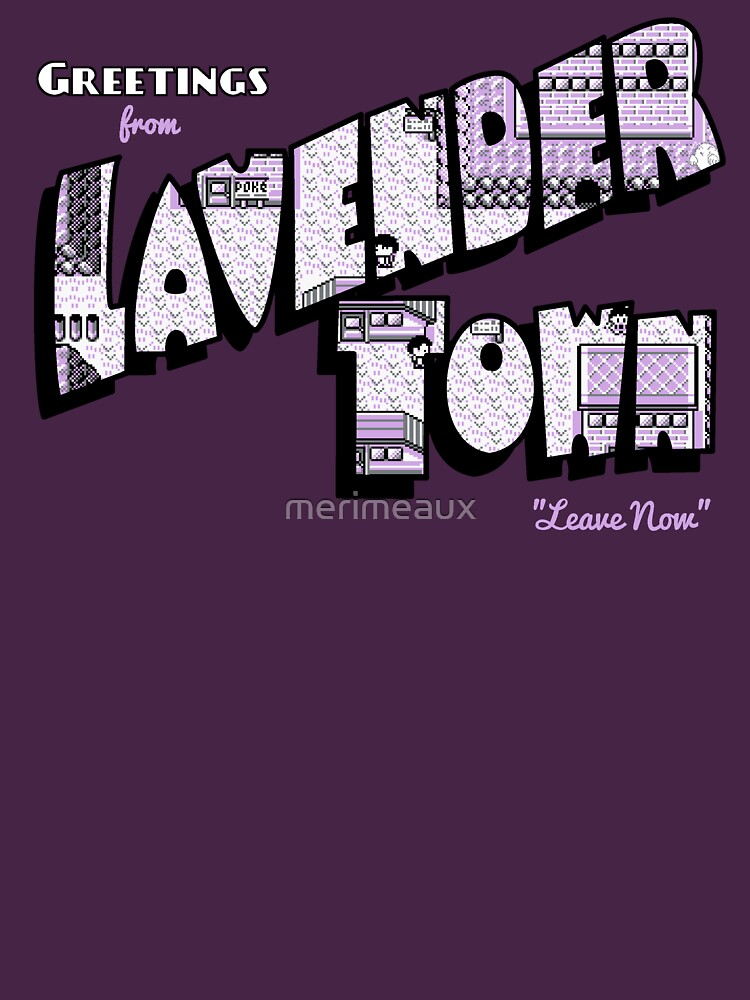 Greetings From Lavender Town Unisex T Shirt A T Shirt Of Vintage