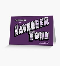 Greetings from Lavender Town Greeting Card