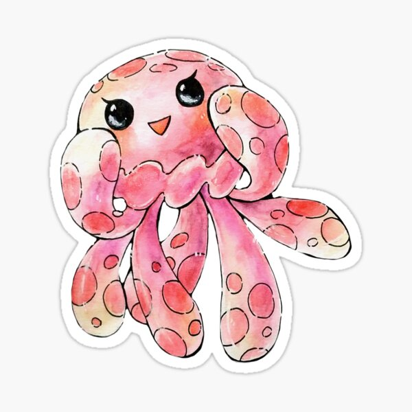 Clara the Spotted Jelly Sticker