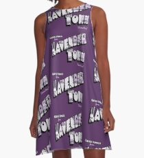 Greetings from Lavender Town A-Line Dress
