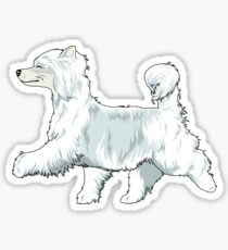 Chinese Crested PP Sticker