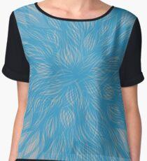 floral blur Women's Chiffon Top