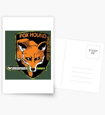 Foxhound Postcards