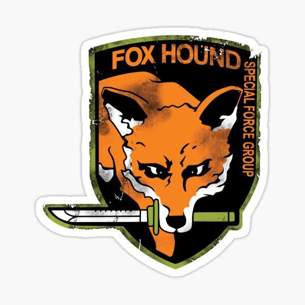 Foxhound Sticker