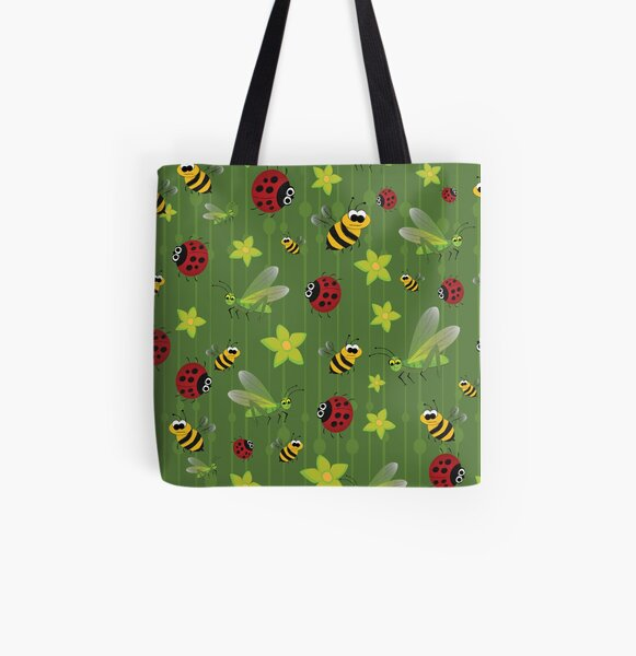 Bed Bugs All Over Print Tote Bag