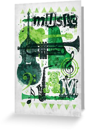 Music Jam by Fil Gouvea