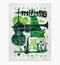 Music Jam Photographic Print