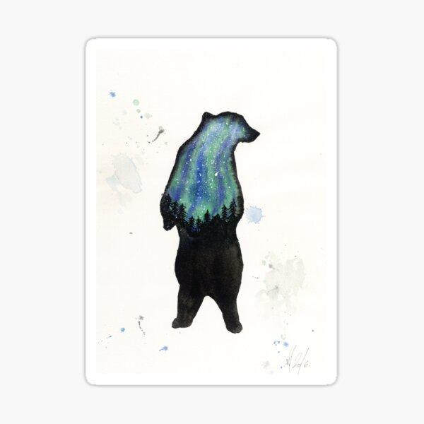 Auros Borialis Bear  Sticker