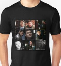 Dean Winchester Quote Collage #2 T-Shirt