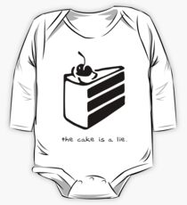 The Cake is a Lie One Piece - Long Sleeve