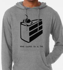 Der Kuchen ist eine Lüge Leichter Hoodie