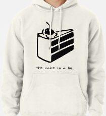 Der Kuchen ist eine Lüge Hoodie
