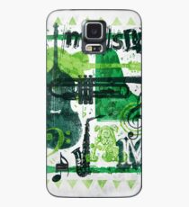 Music Jam Case/Skin for Samsung Galaxy