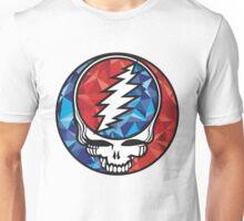 Grateful dead- steal your face geometric Unisex T-Shirt