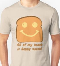 Happy Toast Unisex T-Shirt