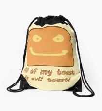 Evil Toast! Drawstring Bag