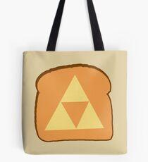 Triforce toast Tote Bag