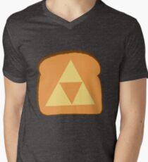 Triforce toast Men's V-Neck T-Shirt