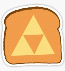 Triforce toast Sticker