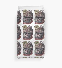 We Can't Drive 55! Duvet Cover