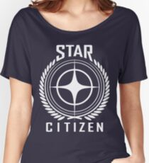 Star Citizen Crest Emblem Women's Relaxed Fit T-Shirt