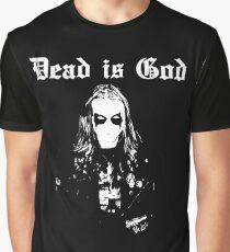 Dead is God, Mayhem Death Metal (White) Graphic T-Shirt