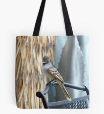 Ash-Throated Flycatcher Smiling Tote Bag