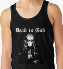 Dead is God, Mayhem Death Metal (White) Tank Top