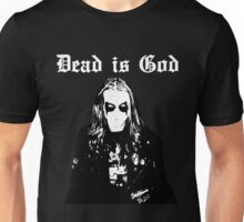 Dead is God, Mayhem Death Metal (White) Unisex T-Shirt