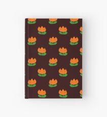 Super Mario World Fire Flower Hardcover Journal