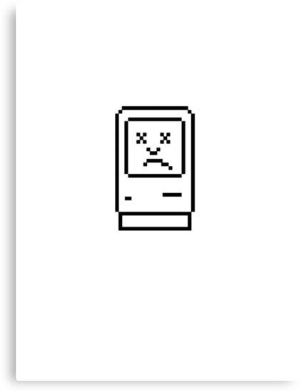 Sad Mac by bradwoodgate