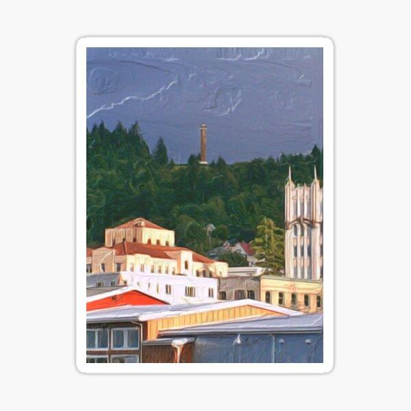Astoria Oregon Sticker