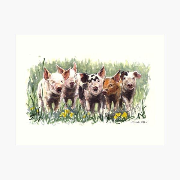 Little Trotters Art Print