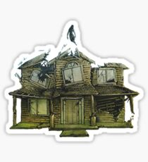 Hell above house: PTV Sticker