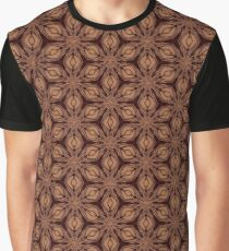 Wood Flowers Graphic T-Shirt