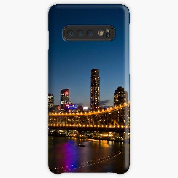 Brisbane Skyline at Dusk Samsung Galaxy Snap Case