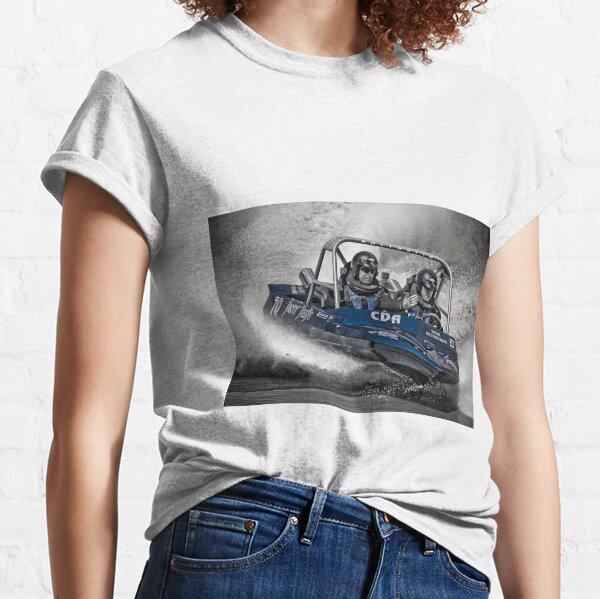 """Dirty Deeds"" - V8 Jetboat Classic T-Shirt"
