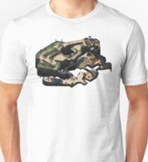 Overpass CSGO Isometric Map T-Shirt