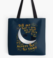 Across The Sand | Rebel of the Sands Tote Bag