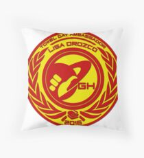 LISA TDA 2K16 Throw Pillow