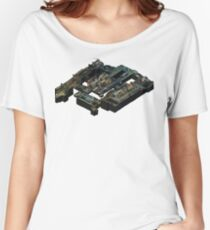 Train CSGO Isometric Map Women's Relaxed Fit T-Shirt
