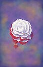 Painted Rose - Rectangular Image by Audra Lemke