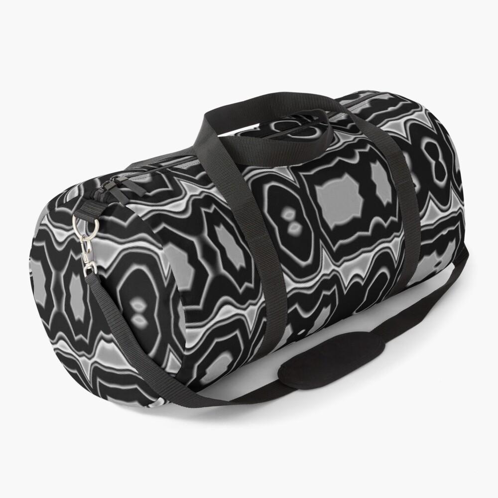 Royal Abstract Art Duffle Bag