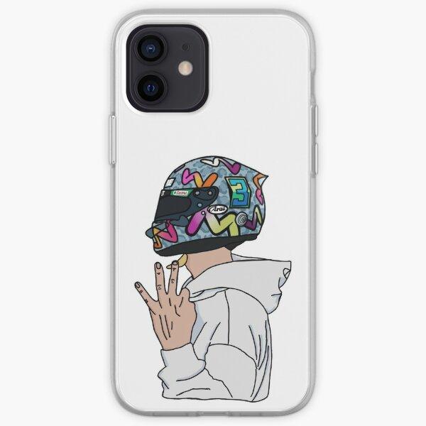 Daniel Ricciardo-Number 3 iPhone Soft Case