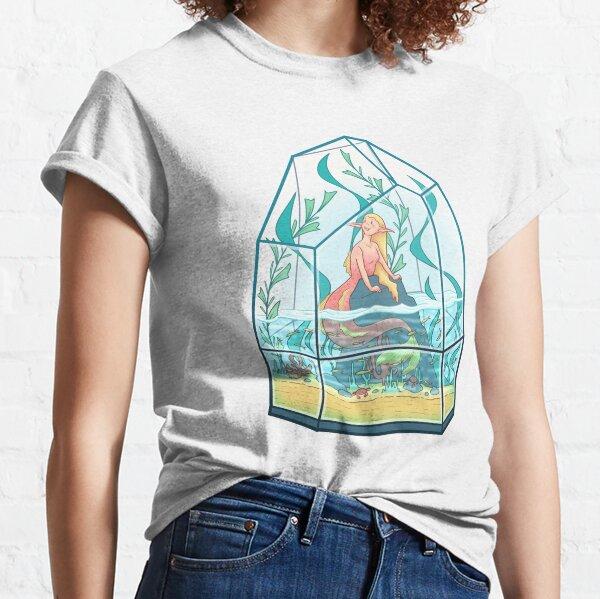 Mermaid Terrarium 2.0 Classic T-Shirt