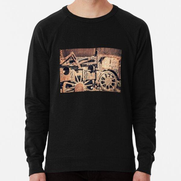 Rusty train wheels Lightweight Sweatshirt