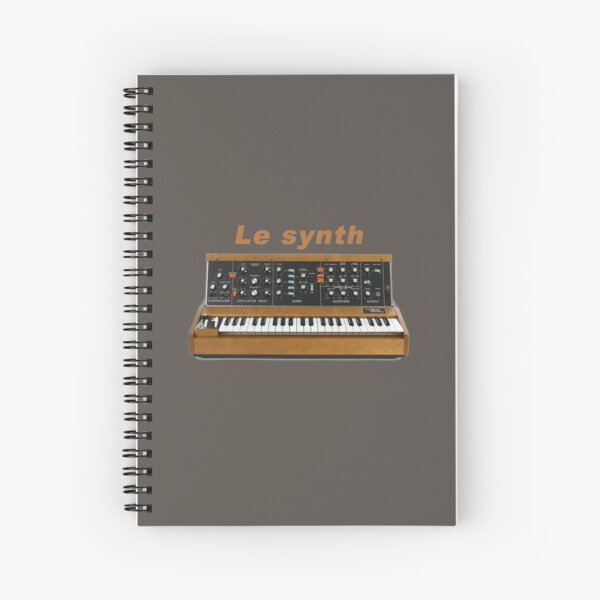 Le synth Spiral Notebook
