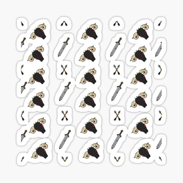 Dragons & Daggers - House Dhal-Marrah Sticker