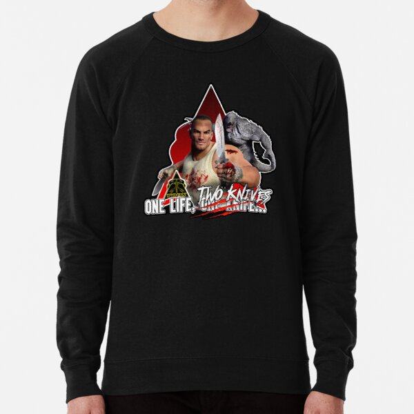 One Life, TWO Knives... Lightweight Sweatshirt